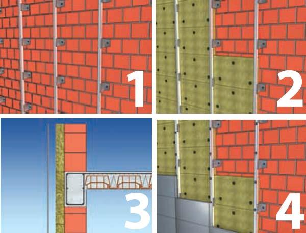 konstrukcija ventilisane demit fasade