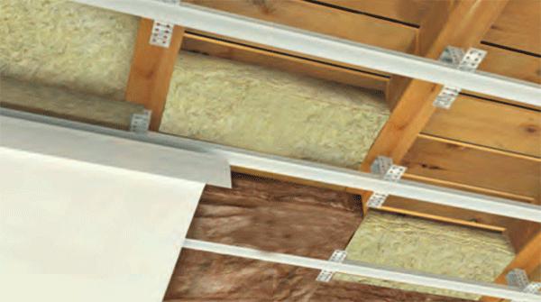 izolacija sa unutrašnje strane neventilisani krov