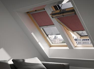kombinovanje spoljnje tende i unutrasnje roletne velux prozori novi sad